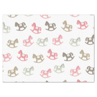 Beautiful Baby Rocking Horses Tissue Paper
