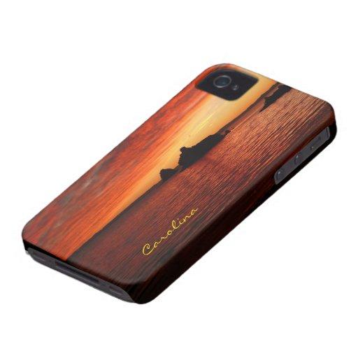 Beautiful Baja Beach Sunset Custom Name Blackberry Cases