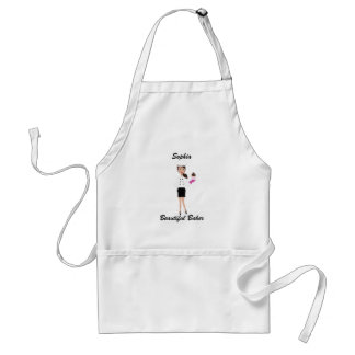 Beautiful Baker Apron Brunette 3