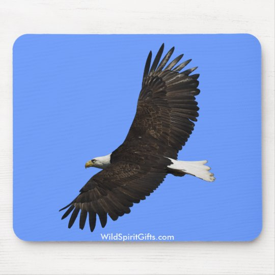 BEAUTIFUL BALD EAGLE Mousepad