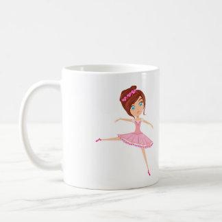 Beautiful ballerina Classic White Mug