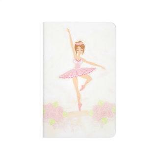 Beautiful ballerina Journal