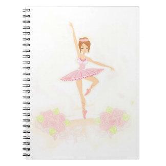 Beautiful ballerina  Notebook