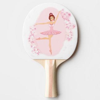 Beautiful ballerina  Ping Pong Paddle