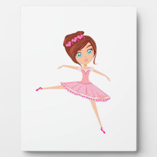 Beautiful ballerina Plaque