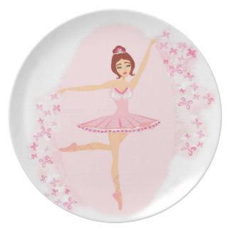 Beautiful ballerina  Plate
