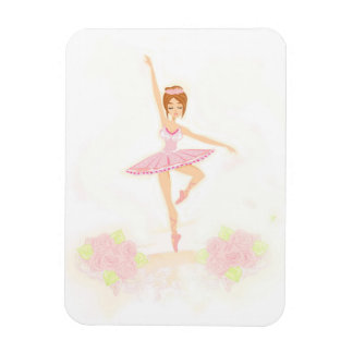 Beautiful ballerina  Premium Flexi Magnet
