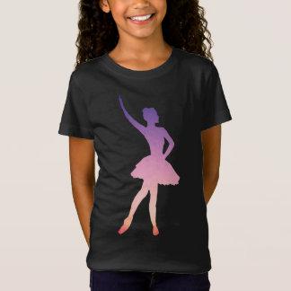 Beautiful ballerina t-shirt for ballet girl.