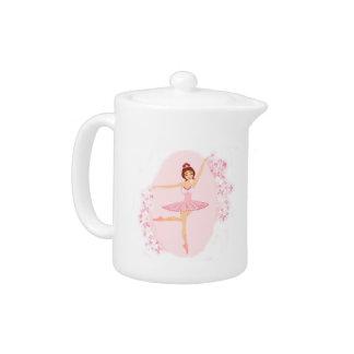 Beautiful ballerina  Teapot