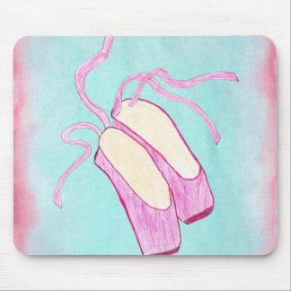 Beautiful Ballet Shoes Mousepad
