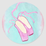 Beautiful Ballet Shoes Sticker