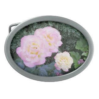 Beautiful bältes-spänne rosenmotiv. belt buckle