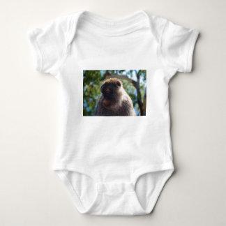 Beautiful Barbary Ape Baby Bodysuit