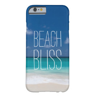 Beautiful Beach Bliss Barely There iPhone 6 Case