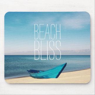 Beautiful Beach Bliss Mouse Mat