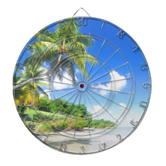 Beautiful beach dartboard