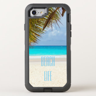 Beautiful Beach Life OtterBox Defender iPhone 8/7 Case