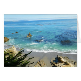 Beautiful Beach Note Card