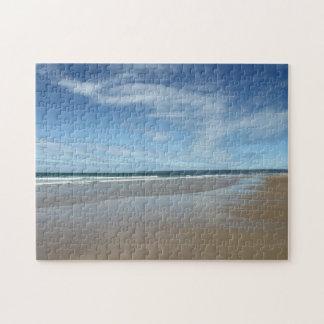 Beautiful Beach Scene Jigsaw Puzzle