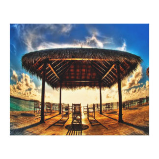 Beautiful Beach Side Scenery Wall Canvas Art Print Gallery Wrap Canvas