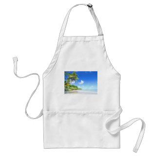 Beautiful beach standard apron