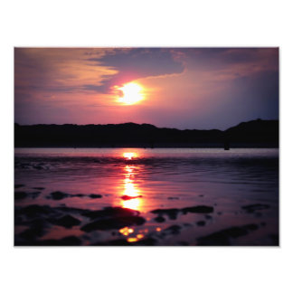 Beautiful Beach Sunrise Photo Art
