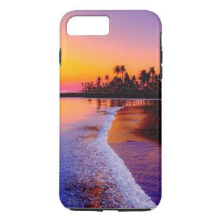 (beautiful beach sunset case) iPhone 8 plus/7 plus case