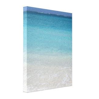 Beautiful Beach | Turks and Caicos Photo Canvas Print
