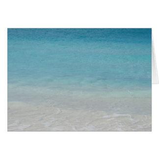 Beautiful Beach Turks and Caicos Photo Cards