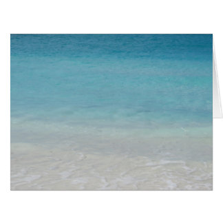 Beautiful Beach Turks and Caicos Photo Greeting Cards
