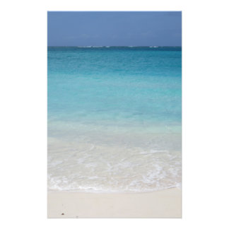 Beautiful Beach Turks and Caicos Photo Flyer