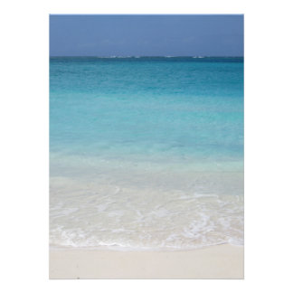 Beautiful Beach Turks and Caicos Photo Announcement