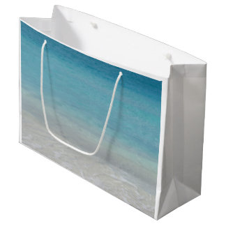 Beautiful Beach | Turks and Caicos Photo Large Gift Bag
