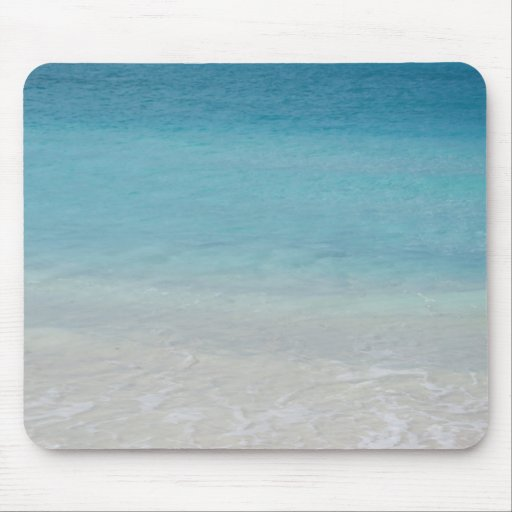 Beautiful Beach | Turks and Caicos Photo Mouse Pads