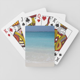 Beautiful Beach | Turks and Caicos Photo Poker Deck