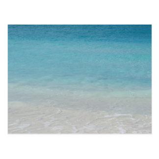 Beautiful Beach   Turks and Caicos Photo Postcard