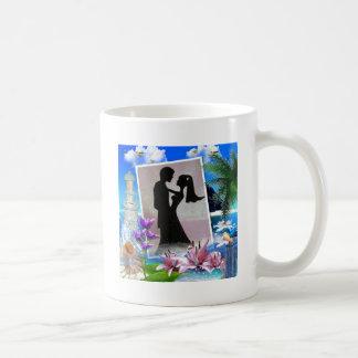 Beautiful Beach Wedding Theme Coffee Mug