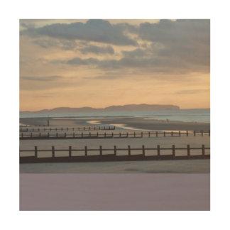Beautiful Beach Wood Canvases
