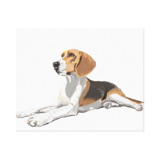 Beautiful Beagle Canvas Print