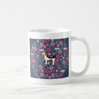Beautiful Beagles Basic White Mug