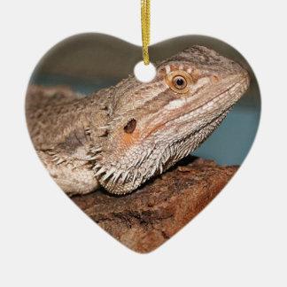 Beautiful Bearded Dragon Christmas Ornament