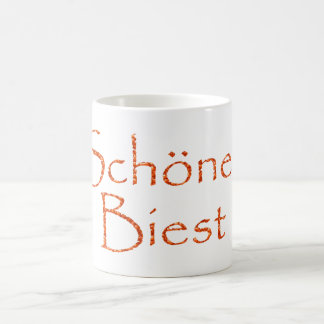 Beautiful beast coffee mug