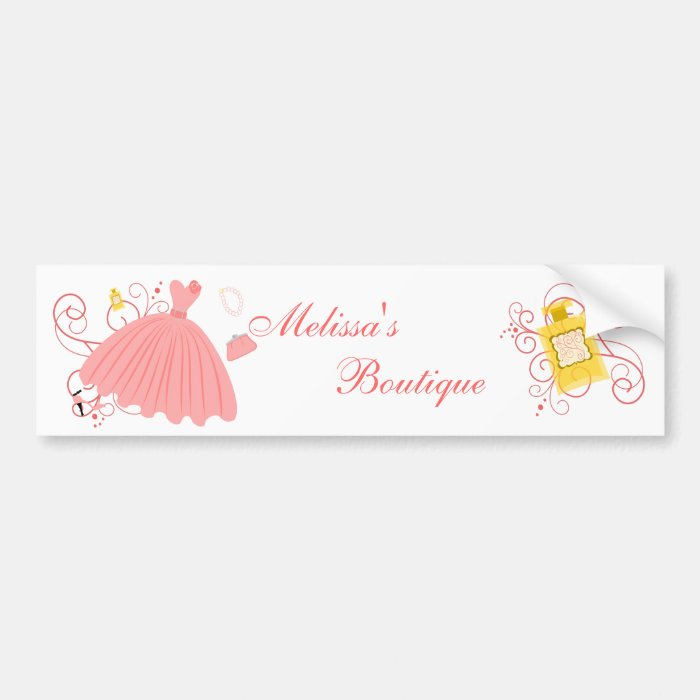 Beautiful, Beautiful Dress Bumper Sticker