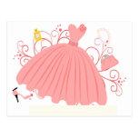 Beautiful, Beautiful Dress Postcard