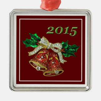 """Beautiful Bells Christmas 2015"" Premium Ornament"