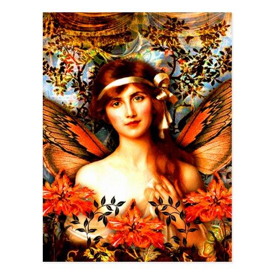 Beautiful Best Selling Fairy Art Postcard