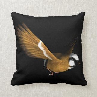 Beautiful bird flying cushion