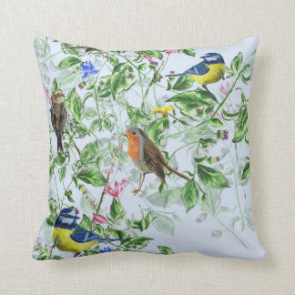 beautiful birds cushion