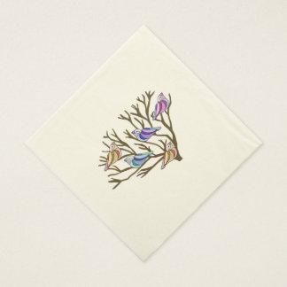 Beautiful Birds Paper Napkins