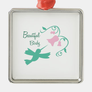 Beautiful Birdy Christmas Ornament
